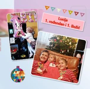 LUCIJIN 1. rođendan i 1. Božić - Pregled