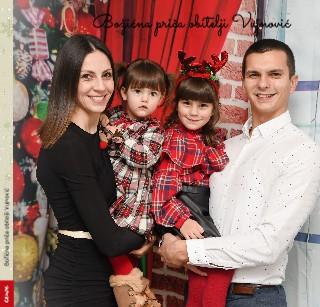 Božićna priča obitelji Vujnović - Pregled