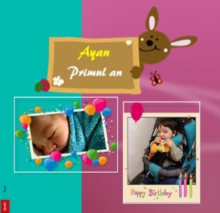Ayan - Primul an - Vizualizare