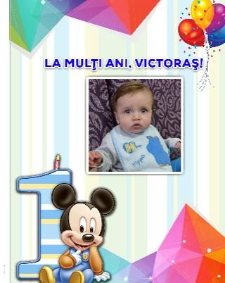 Victoraş - Primul anişor - Vizualizare
