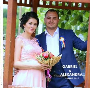 GABRIEL SI ALEXANDRA - 11 iunue 2017 - Vizualizare
