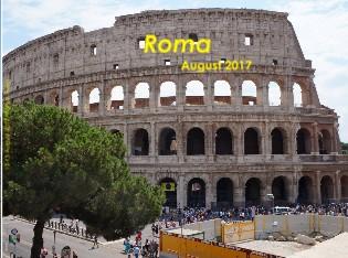 12-15 August 2017 -Roma, Italia - Vizualizare