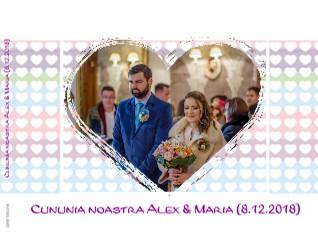 Cununia noastra Alex & Maria (8.12.2018) - Vizualizare
