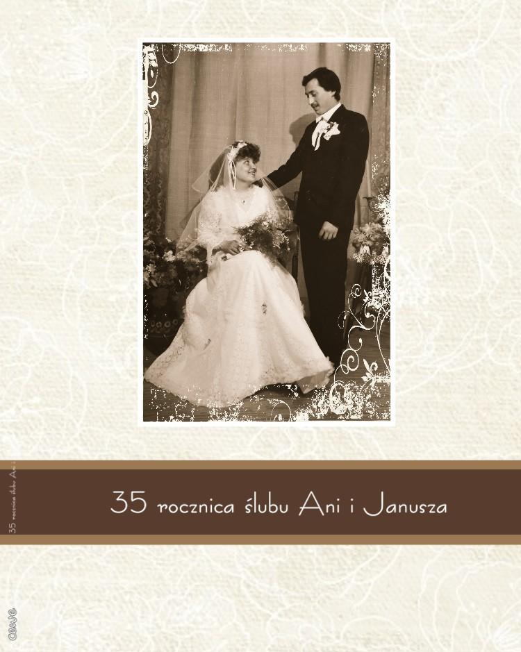 35 rocznica ślubu Ani i Janusza