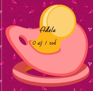 Adéla od narození po oslavu prvních narozenin - Zobrazit knihu