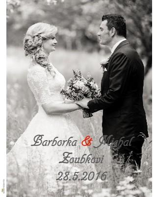 Barborka & Michal Zoubkovi 28.5.2016 - Zobrazit knihu