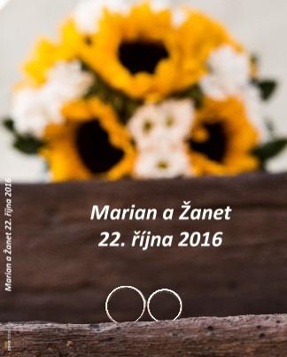 Marian a Žanet 22. října 2016 - Zobrazit knihu