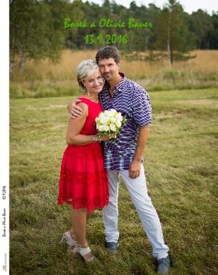 Borek a Olivie Bauer 13.9.2016 - Zobrazit knihu