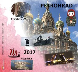 STOCKHOLM PETROHRAD HELSINKY 2017 - Zobrazit knihu