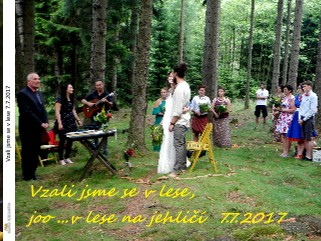 Vzali jsme se v lese 7.7.2017 - Zobrazit knihu