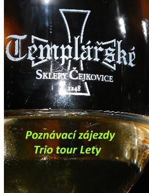 Poznávací zájezdy Trio tour Lety - Zobrazit knihu