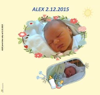 ALEX první dva roky od 3.12.2015 - Zobrazit knihu