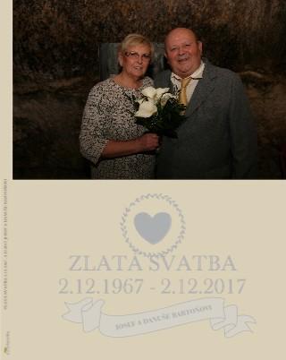 ZLATÁ SVATBA 2.12.1967 - 2.12.2017 - Zobrazit knihu