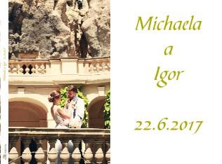 Michaela a Igor 22.6.2017 - Zobrazit knihu
