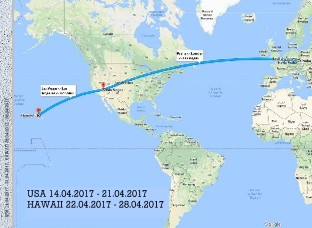 HAWAII - 13.04.2017 - 28.04.2017 - Zobrazit knihu