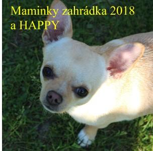 Maminky zahrádka 2018 a HAPPY - Zobrazit knihu