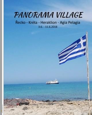 PANORAMA VILLAGE Řecko - Kréta - Heraklion - Agia Pelagia 3.6. - 11.6.2018 - Zobrazit knihu