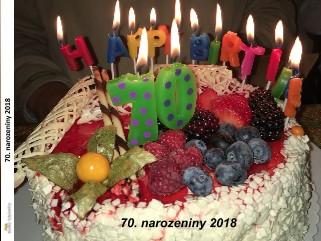 70. narozeniny 2018 - Zobrazit knihu