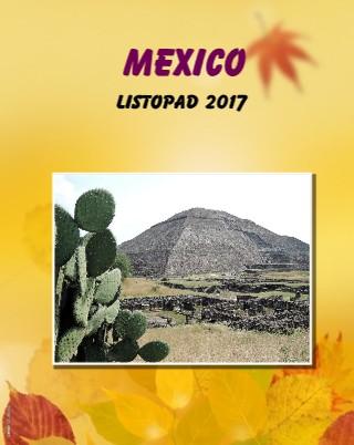 MEXICO listopad 2017 - Zobrazit knihu
