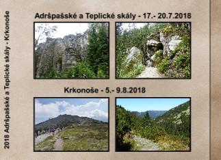 2018 Adršpašské a Teplické skály - Krkonoše - Zobrazit knihu
