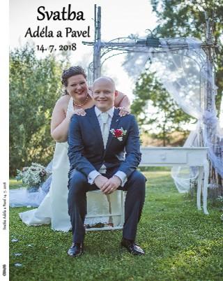 Svatba Adéla a Pavel 14. 7. 2018 - Zobrazit knihu