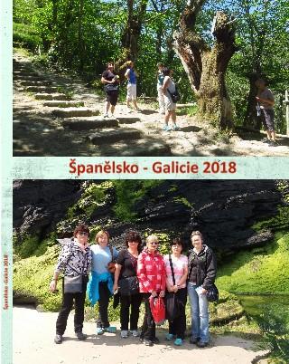 Španělsko -Galície 2018 - Zobrazit knihu
