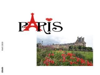 Paříž 2019 - Zobrazit knihu