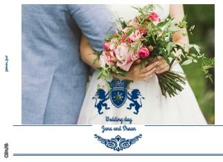 Wedding day Jana and Shaun - Zobrazit knihu