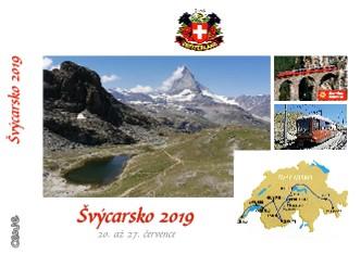 Švýcarsko 2019 - Zobrazit knihu