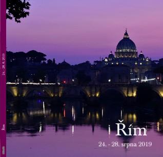 Řím 24. - 28. srpna 2019 - Zobrazit knihu