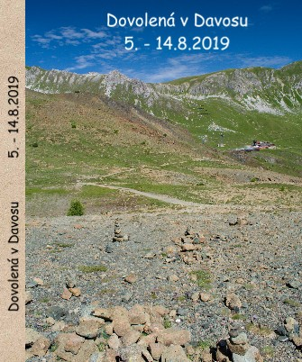 Dovolená v Davosu 5. - 14.8.2019 - Zobrazit knihu