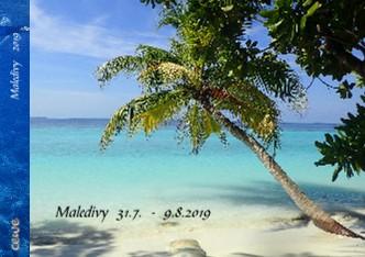 Maledivy 31.7. - 9.8.2019 - Zobrazit knihu