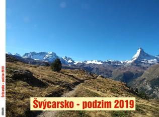Švýcarsko - podzim 2019 - Zobrazit knihu