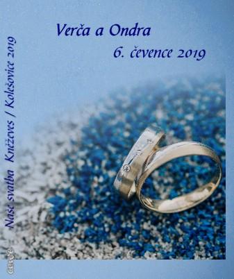 Naše svatba Kněževes / Kolešovice 2019 - Zobrazit knihu
