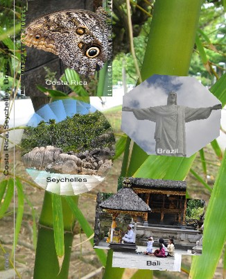 Costa Rica, Sheyshelles, Brazil, Bali - Zobrazit knihu