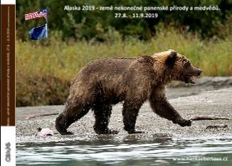 Alaska 2019 - země nekonečné panenské přírody a medvědů. 27.8. - 11.9.2019 - Zobrazit knihu
