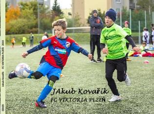 JAkub Kovařík FC VIKTORIA PLZEŇ - Zobrazit knihu