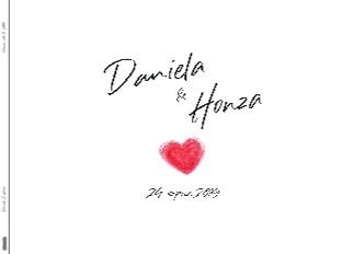 Daniela & Honza Vizovice 24. 8. 2019 - Zobrazit knihu