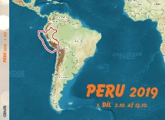 PERU 2019 1. DÍL 2.10. až 13.10. - Zobrazit knihu