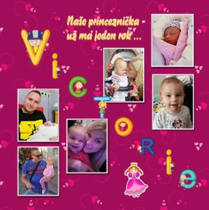 Naše princeznička - už má jeden rok ... - Zobrazit knihu