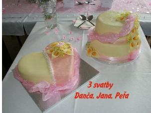3 svatby Danča, Jana, Peťa - Zobrazit knihu