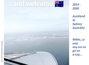 2019 - 2020 Auckland to Sydney Austrália Mtths_cz and dag.mar.ita go on a trip... - Zobrazit knihu