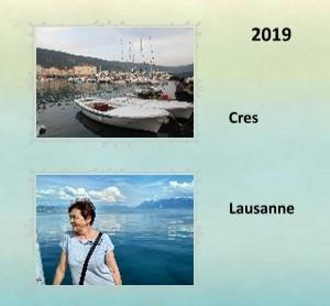 2019 Cres-Lausanne - Zobrazit knihu