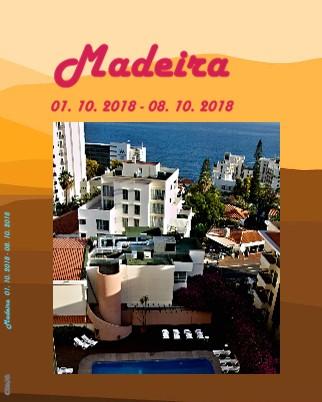 Madeira 01. 10. 2018 - 08. 10. 2018 - Zobrazit knihu