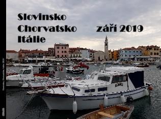 Slovinsko Chorvatsko září 2019 Itálie - Zobrazit knihu