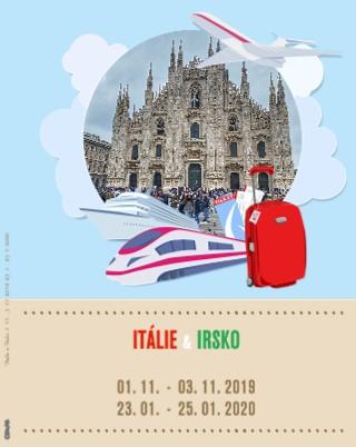 Itálie a Irsko - Zobrazit knihu