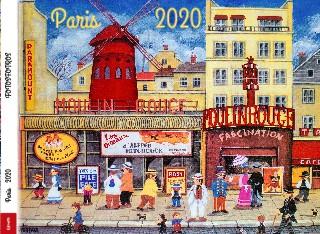 Paříž 2020  - Zobrazit knihu