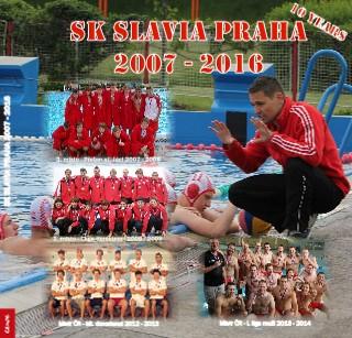 SK SLAVIA PRAHA 2007 - 2016 - Zobrazit knihu