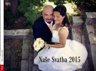 Naše Svatba 2015 - Zobrazit knihu