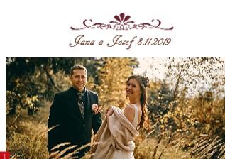 Jana a Josef 8.11.2019 - Zobrazit knihu